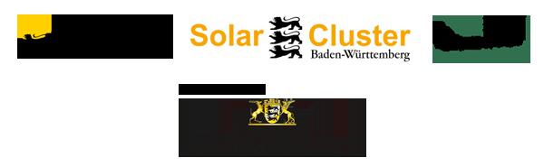 Logoleiste Solar Cluster BW