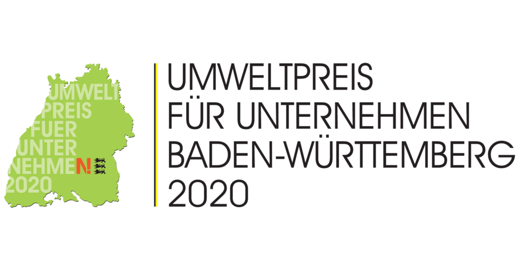 Das Bild zeigt das Logo des Umweltpreises Baden-W?rttemberg.